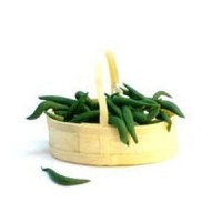 Dollhouse Basket of String Beans - Product Image