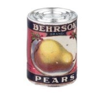 § Sale .30¢ Off - Dollhouse 1 lb. Can of Behrson Pears - Product Image