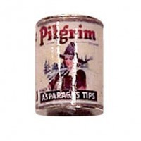 § Sale .30¢ Off - Dollhouse 1 lb. Can of Pilgrim Asparagus Tips - Product Image