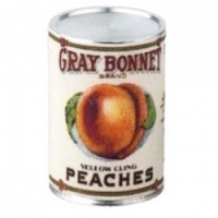 § Sale .30¢ Off - Dollhouse 2 lb. Can of Gray Bonnet Peaches - Product Image