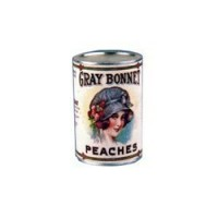 (§) Sale .30¢ Off - Dollhouse 2 lb. Can of Gray Bonnet Peaches - Product Image