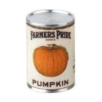 * Closeout * Dollhouse 2 lb. Can of Farmers Pride Pumpkin - Product Image