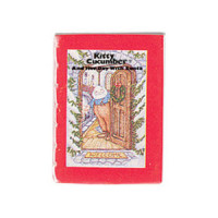 (§) Sale $1 Off - Readable Kitty Cucumber & Santa Book - Product Image