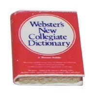 (§) Sale .30¢ Off - Dollhouse Webster's Dictionary - Product Image