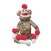 (**) Dollhouse Sock Monkey - Product Image