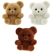 § Sale .60¢ Off - Dollhouse Fuzzy Teddies - Product Image