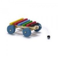 Dollhouse Pull Toy - Xylophone - Product Image