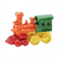 Dollhouse Toy Train Engine, Hand Painted - Product Image