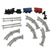 Dollhouse Miniature Train Set - Product Image