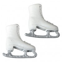 (**) Dollhouse Children's Skates - Product Image