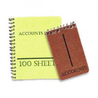 (*) Dollhouse Accounting Ledger & Pad - Product Image