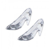 (*) Dollhouse Glass Slippers - Product Image