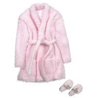 Short Terry Cloth Robe Set - Product Image
