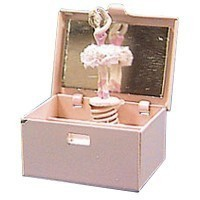 Sale $2 Off - Dollhouse Ballerina Jewelry Box - Product Image