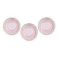 Dollhouse 3 pc Lace Edged Plates - Product Image