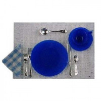 8 pc Cobolt Blue Place Setting - Product Image