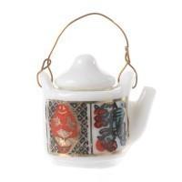 § Disc .60¢ Off - Dollhouse Imari Tea Pot - Product Image