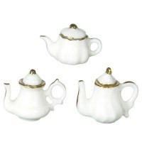§ Sale $2 Off - Porcelain China Tea Pot - Product Image