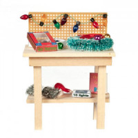 Dollhouse Christmas Workbench - Product Image