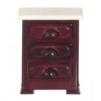 Dollhouse Marble Top Night Stand - Product Image