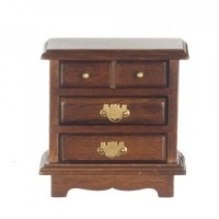 Dollhouse Night Stand - Walnut - Product Image