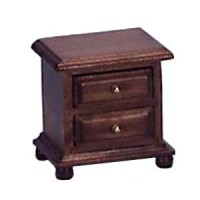 Disc $1 Off - Dollhouse Walnut Night Stand - Product Image