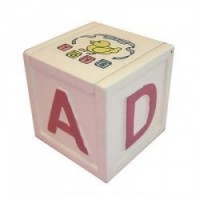ABC Dollhouse Block Toy Chest - Product Image