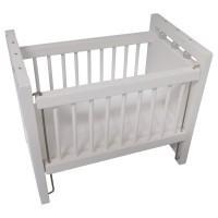 Dollhouse White Crib - Product Image