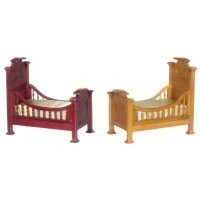 Dollhouse Victorian Youth Bed - Product Image