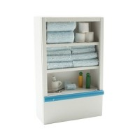 (**) Dollhouse Small Filled Bathroom Shelf - Product Image