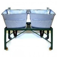 Double Old Fashion Laundry Sink - Product Image