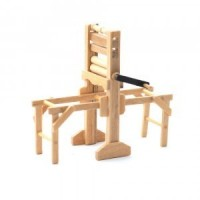 (**) Dollhouse Mangle with Tub Stands - Product Image