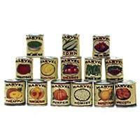 Marvel Vintage Food Can Labels (Kit) - Product Image