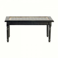 Dollhouse Tile Top Table- Choice of Finish - - Product Image
