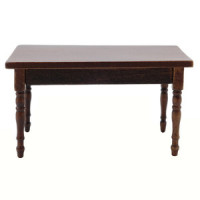 Dollhouse Kitchen Table- Choice of Finish - - Product Image