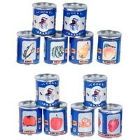 (**) Cooks Vintage Dollhouse Food Can (Kit) - Product Image