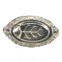Dollhouse Well & Tree Silver Tray Don't Delete - Product Image