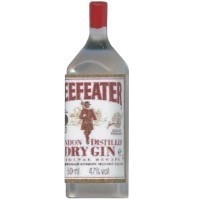 (*) Dollhouse Beefeaters Gin Bottle - Product Image