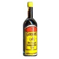 (*) Dollhouse Gordon's Gin Bottle - Product Image