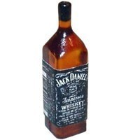 (*) Dollhouse Jack Daniels Whiskey Bottle - Product Image