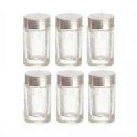 (**) 6 Empty Dollhouse Baby Jar - Product Image