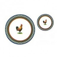 8 pc Dollhouse Matching Place Settings. - Product Image