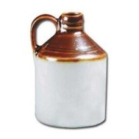 (*) Dollhouse Earthware Wine Jug - Product Image