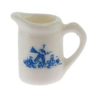 § Sale .40¢ Off - Dollhouse Delft Pitcher - Product Image