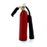 (*) Large Dollhouse Fire Extinguisher - Product Image