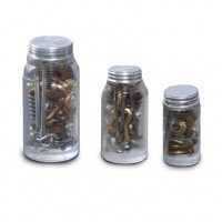 (**) Dollhouse Jars of Nuts & Bolts - Product Image