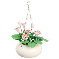 § Sale $1 Off - Dollhouse Pink Hanging Flower - Product Image