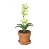 (§) Disc. $1 Off - Dollhouse Potted Orchid - Product Image