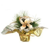 (§) Sale $3 Off - Dollhouse Poinsettia Pot - Product Image