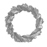 (*) Dollhouse Ornate Round Leaf Frame - Product Image